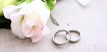 婚約指輪、結婚指輪イメージ